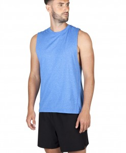 Mens Marl sleeveless tshirts