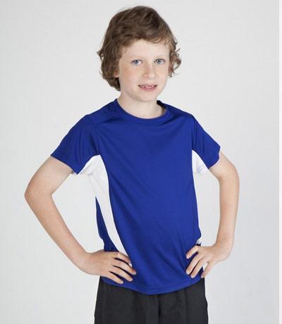 Kids Sports Tee - Cool Dry Tshirt