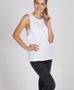 Ladies Sleeveless Tee - Deep Cut