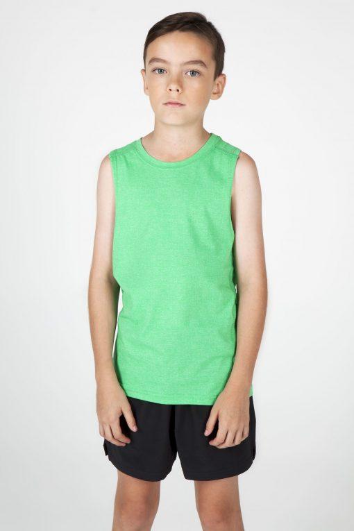 Kids Marl sleeveless tshirts