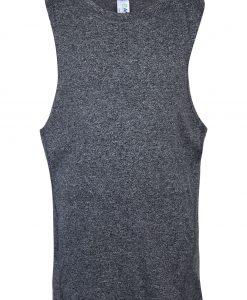 Kids Marl sleeveless tshirts - Charcoal