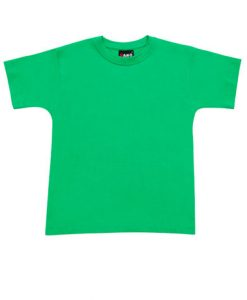 Kids Regular Tee - Kelly Green