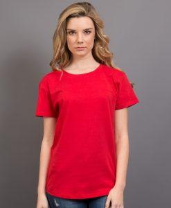 Ladies Retailer Tee - Red, 14