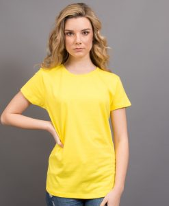 Ladies Retailer Tee - Yellow, 16