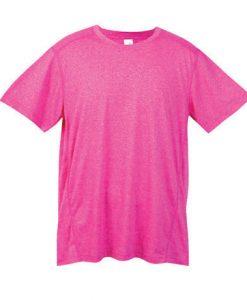 Mens Action 130 Tee - Hot pink, Medium