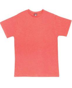 Mens Breeze T-Shirt - Coral Red, XXL