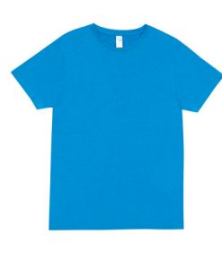 Mens Marl Blend T-Shirt - Azure, Large