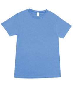 Mens Marl Blend T-Shirt - Sky Blue, XXL