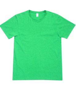 Mens Marl T-Shirt - Green Marl, Small