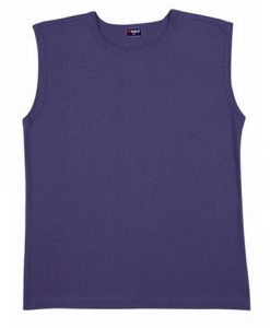 Mens Muscle Tee - Navy, L