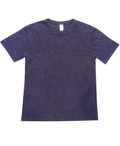 Mens Raw Tee - Charcoal, Large