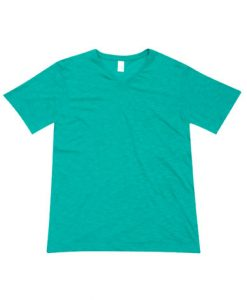 Mens Raw Vee Tee - Fruit Green, XXL