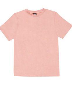 Mens Slim Tee - Pale Pink, XXL