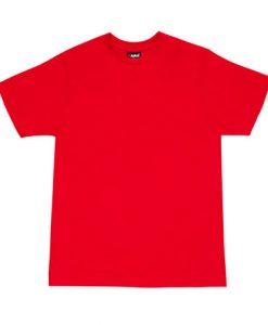 Mens Slim Tee - Red, 3XL