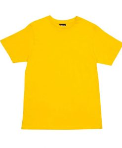 Mens Slim Tee - Yellow, 3XL