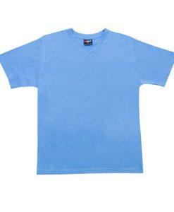 Mens Standard Vee - Pacific Blue, 3XL