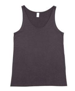 Mens T-back Singlet - Charcoal, 3XL