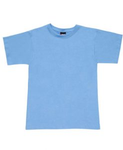 Promo Tee - Sky Blue, Large