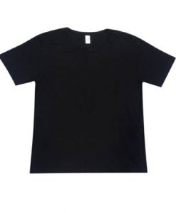 Retailer Tee with tear-away label - Black, S