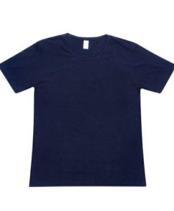 Retailer Tee with tear-away label - Navy, L