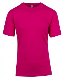 Unisex Tee - Hot pink, Small