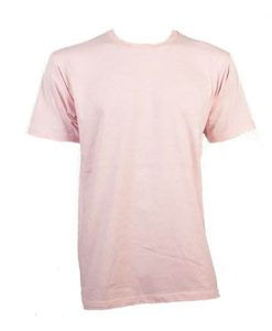Unisex Tee - Pale Pink, Small