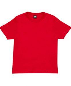 Unisex Tee - Red, Large