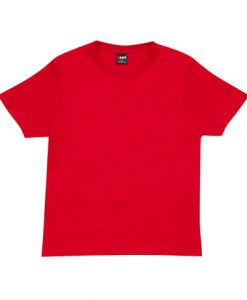 Unisex Tee - Red, Small