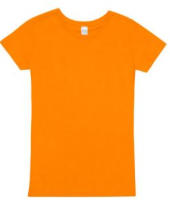Women Modern Fit - Orange, 14