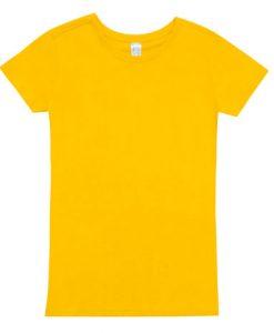 Women Modern Fit - Yellow, 14