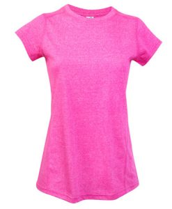 Womens Action 130 T-Shirt - Hot pink, 12