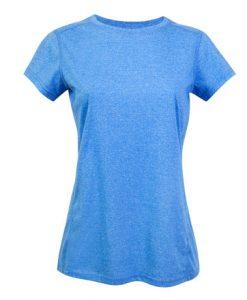 Womens Action 130 T-Shirt - Royal, 12