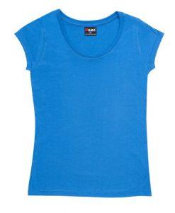 Womens Jersey Tee - Azure, 10