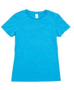 Womens Marl T-Shirt - Sapphire Marl, 10