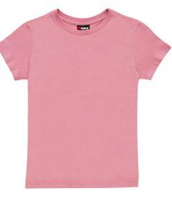 Womens Slim Fit Tee - Pale Pink, 18