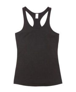 Womens T-back Singlet - Black, 18